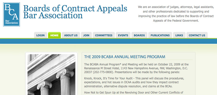 Board of Contract Appeals Bar Association