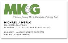 Merlo Kanofsky & Gregg : 2012 Rebrand