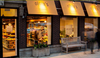 Olivia's Market Website
